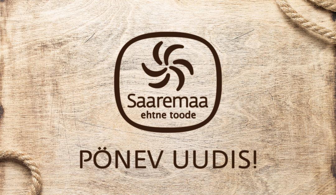 Pönev uudis – avame Tallinnas Saaremaa tootjate esinduspoe.